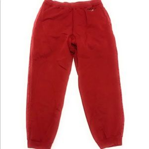 Vtg 90s Polo Sport Ralph Lauren Red Sweat Pants